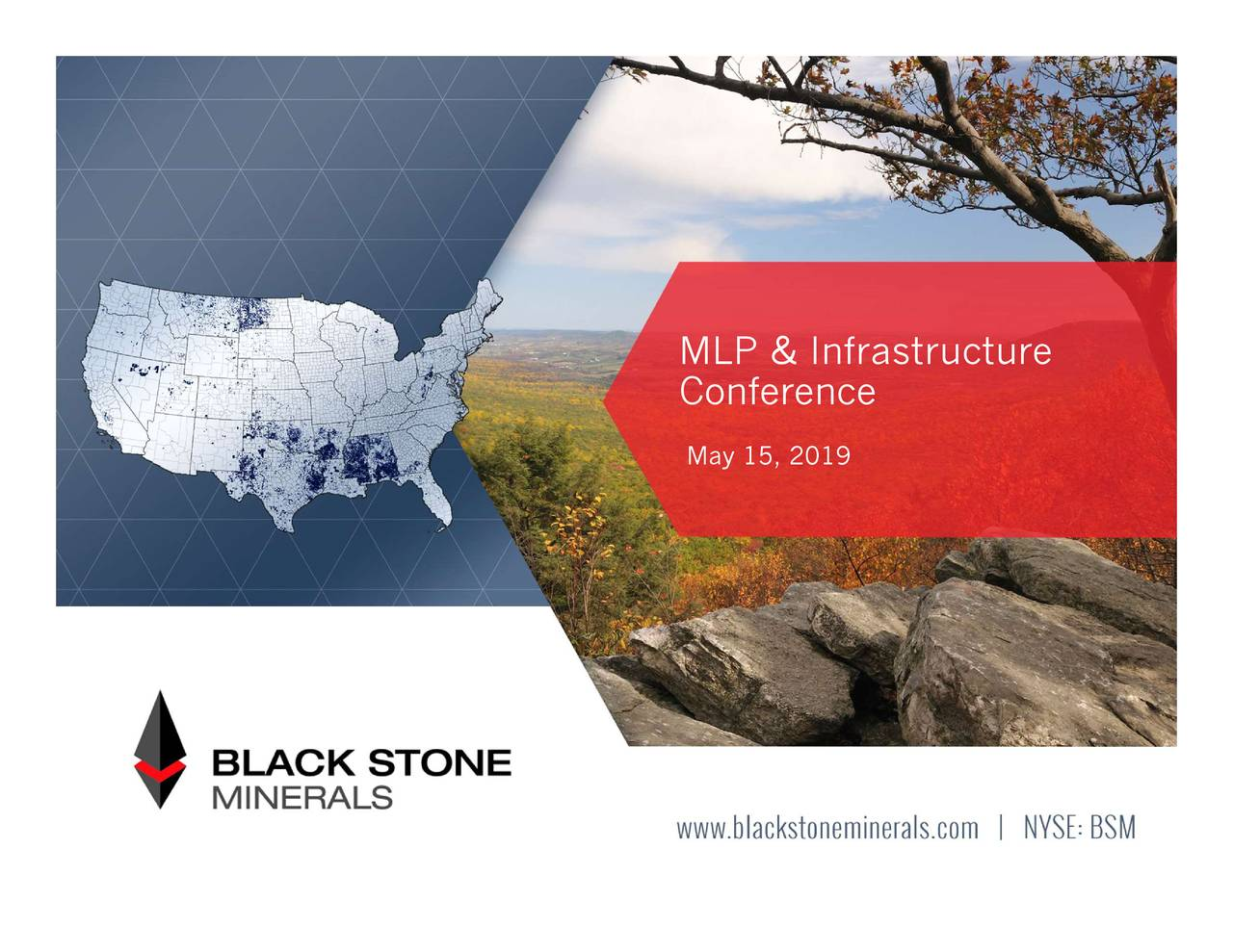Black Stone Minerals LP (BSM) Presents At 2019 MLP & Energy Infrastructure Conference - Slideshow