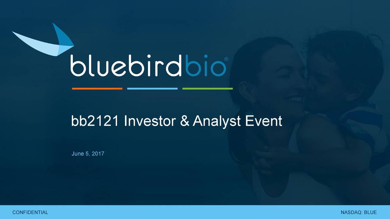 June 5, 2017 NASDAQ: BLUEL NASDAQ: BLU1