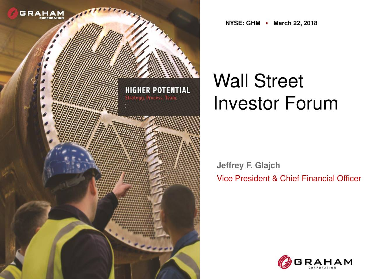 Graham Corporation (GHM) Presents At The Wall Street