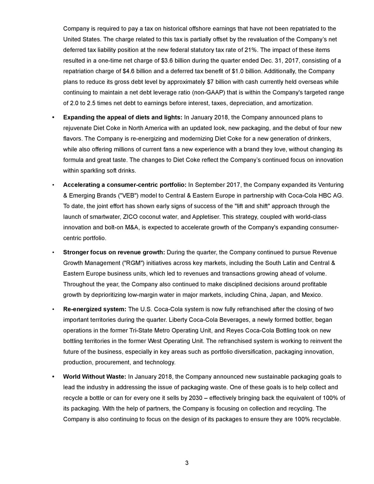 market focus and growth strategy of the coca cola company business essay The coca cola company 's long term growing scheme of puting in emerging markets, is related to the coca cola company projections in these markets the ccc attributes this to a positive correlativity between wealth and the addition in ingestion of nonalcoholic ready-to-drink ( nartd ) drinks.