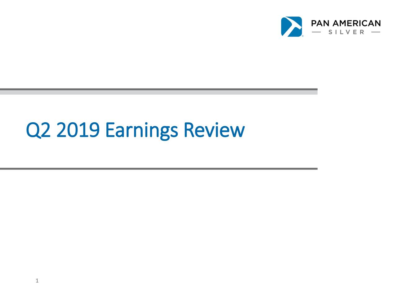 Q2 2019 Earnings Review