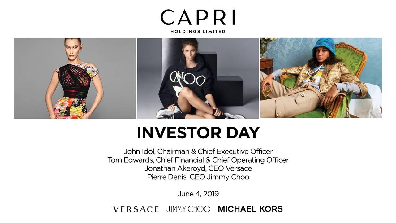 Capri Holding (CPRI) Investor Presentation - Slideshow
