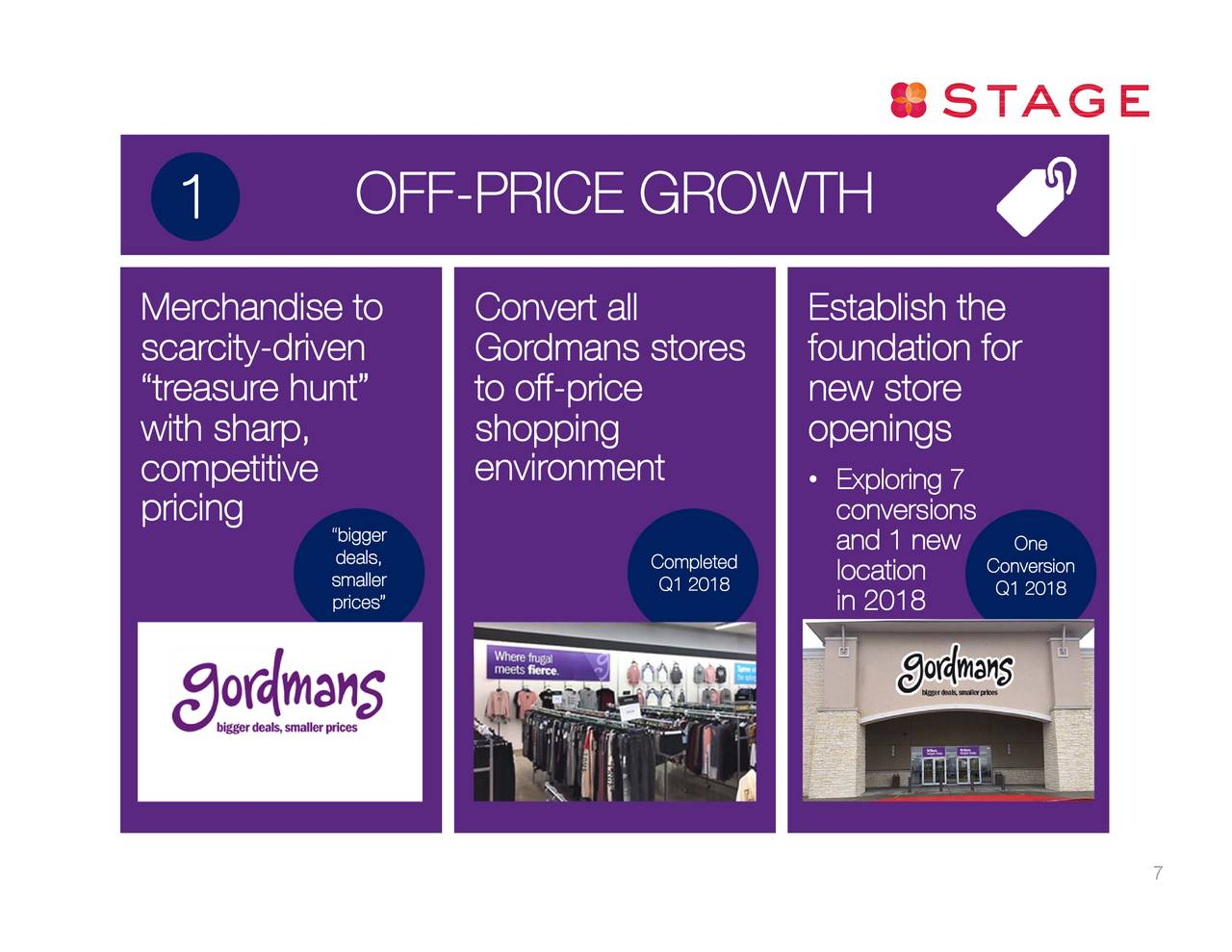 Stage Stores Inc 2018 Q1 Results Earnings Call Slides Stage