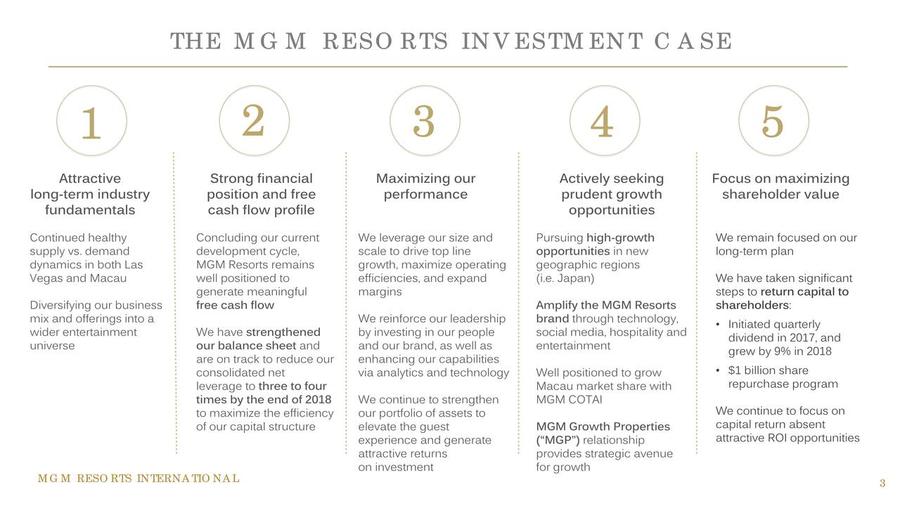 mgm international resorts case analysis memo essay Deputy secretary of the interior david bernhardt met last fall with a lobbyist for mgm resorts, the casino giant that his former employer also represents, according to calendar records.