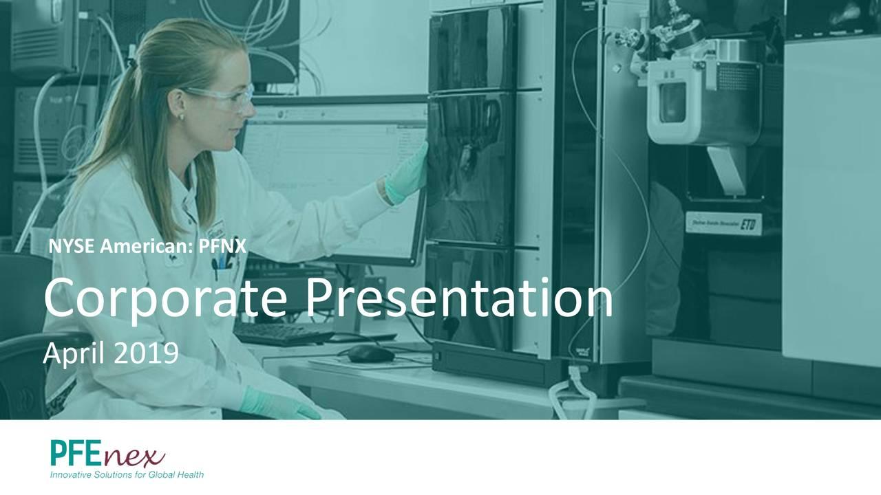 Corporate Presentation April 2019