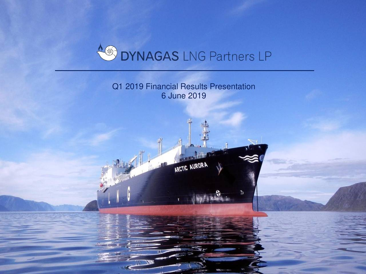 Dynagas LNG Partners LP 2019 Q1 - Results - Earnings Call Slides