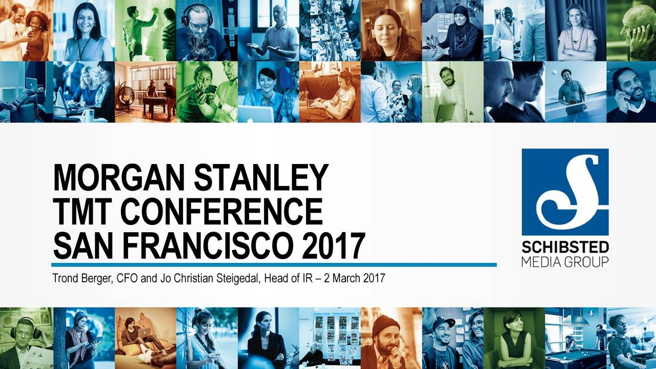 Schibsted ASA ADR (SBSNY) Presents At Morgan Stanley 2017