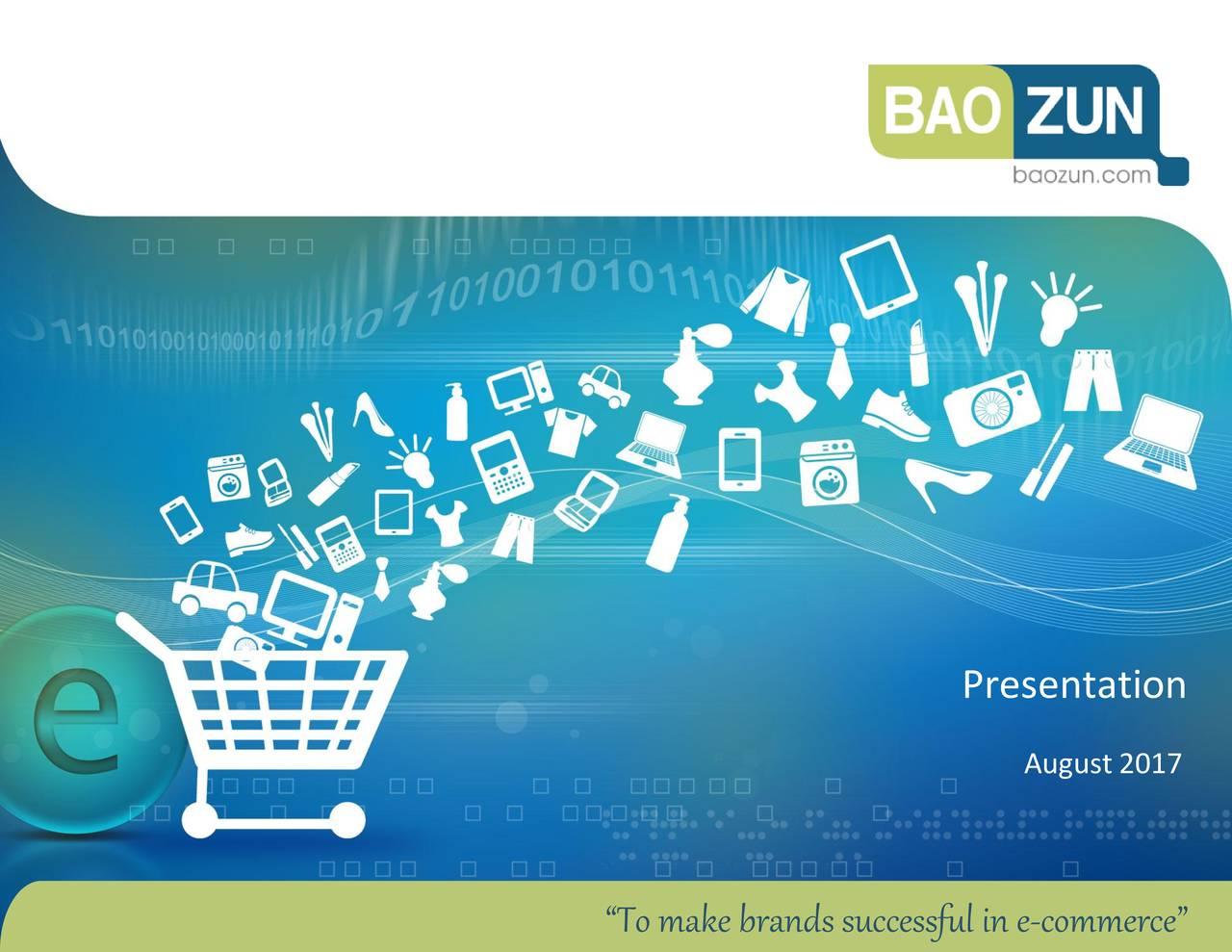 "August 2017 1 ""Tomakebrandssuccessfuline-commerce"""