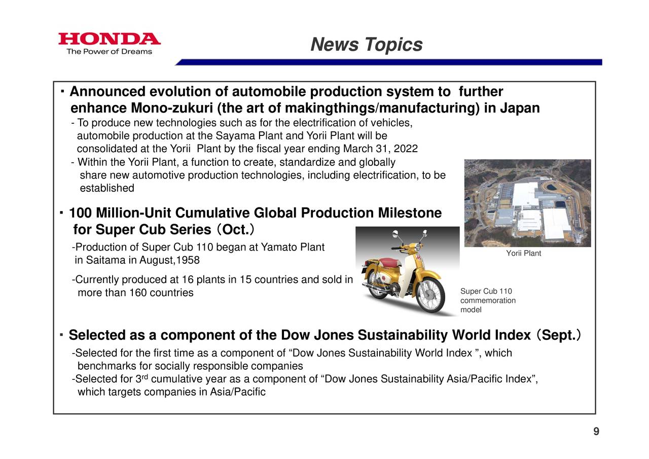 case study honda motor co The case describes honda motor co's initiatives to reduce the environmental impact of its products and operations it discusses 'environmentology', the company's.