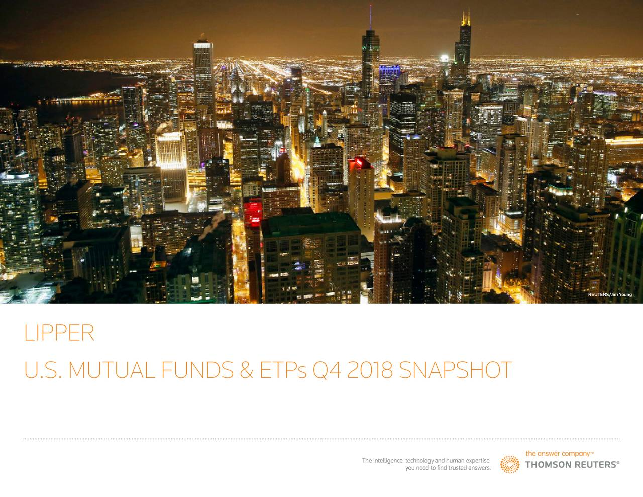 LIPPER U.S. MUTUAL FUNDS & ETP s Q4 2018 SNAPSHOT