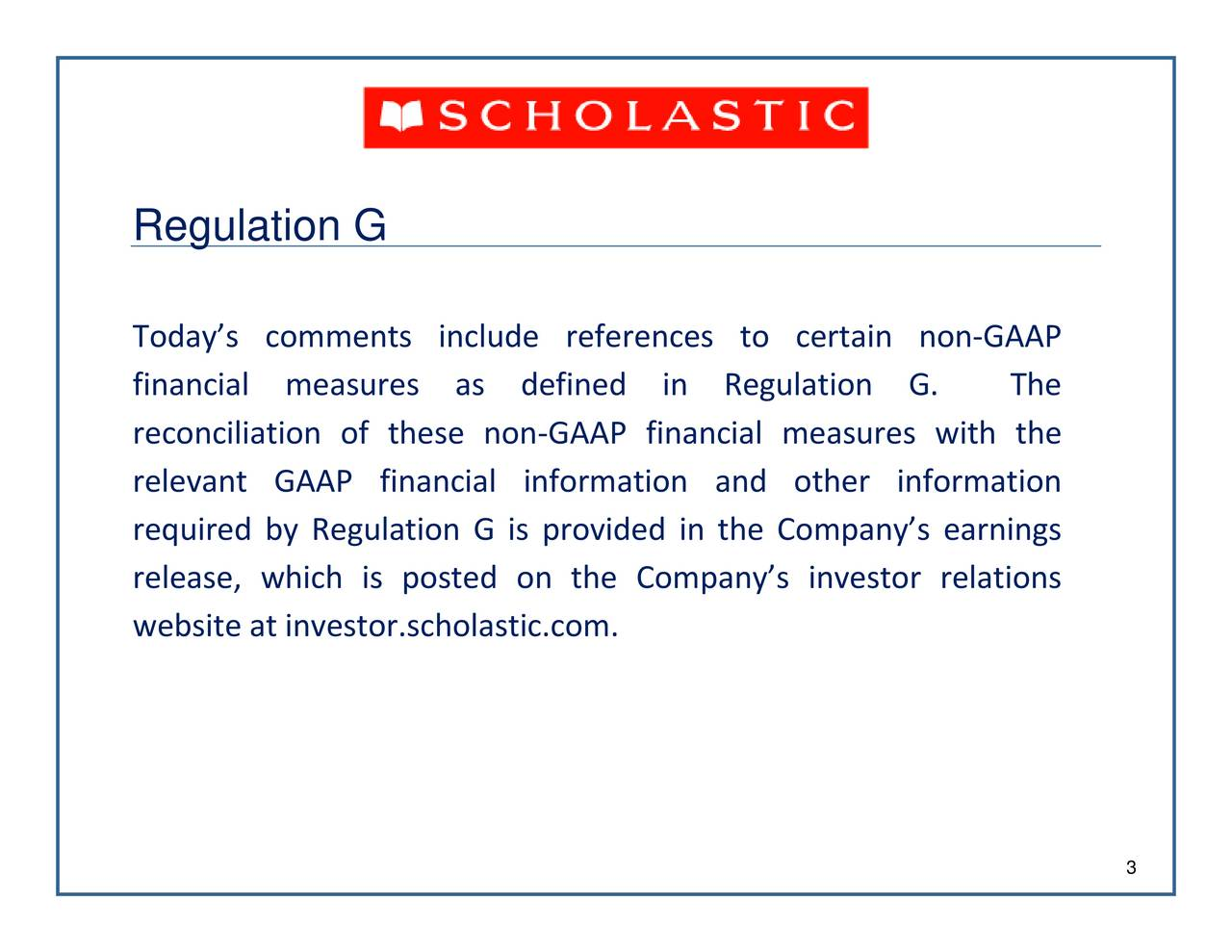 AAP GAAP financial measures with the Regul TotionsGcomments include references to certain nond.hoph