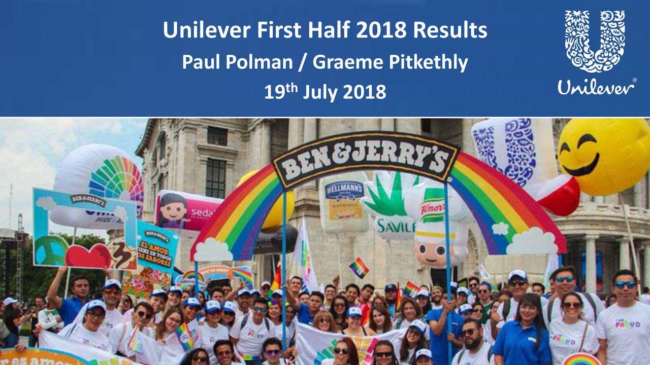 Paul Polman / Graeme Pitkethly th 19 July 2018