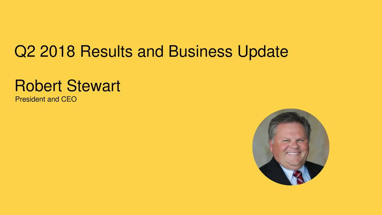 Robert Stewart President and CEO 3