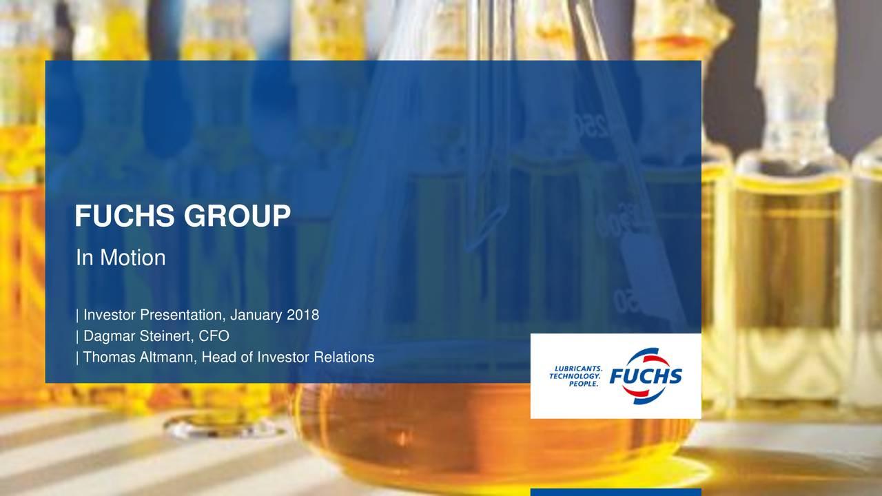 Fuchs Petrolub (FUPEY) Presents At 21st Oddo BHF Forum