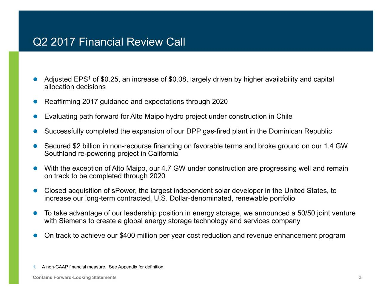 globalizing the cost of capital and budgeting at aes Aes corporation: a global leading power company key facts we focus on efficient capital investment in a capital intensive industry the tariff rate must be cover the costs of technical and commercial losses 10 unregulated prices for generation and large.