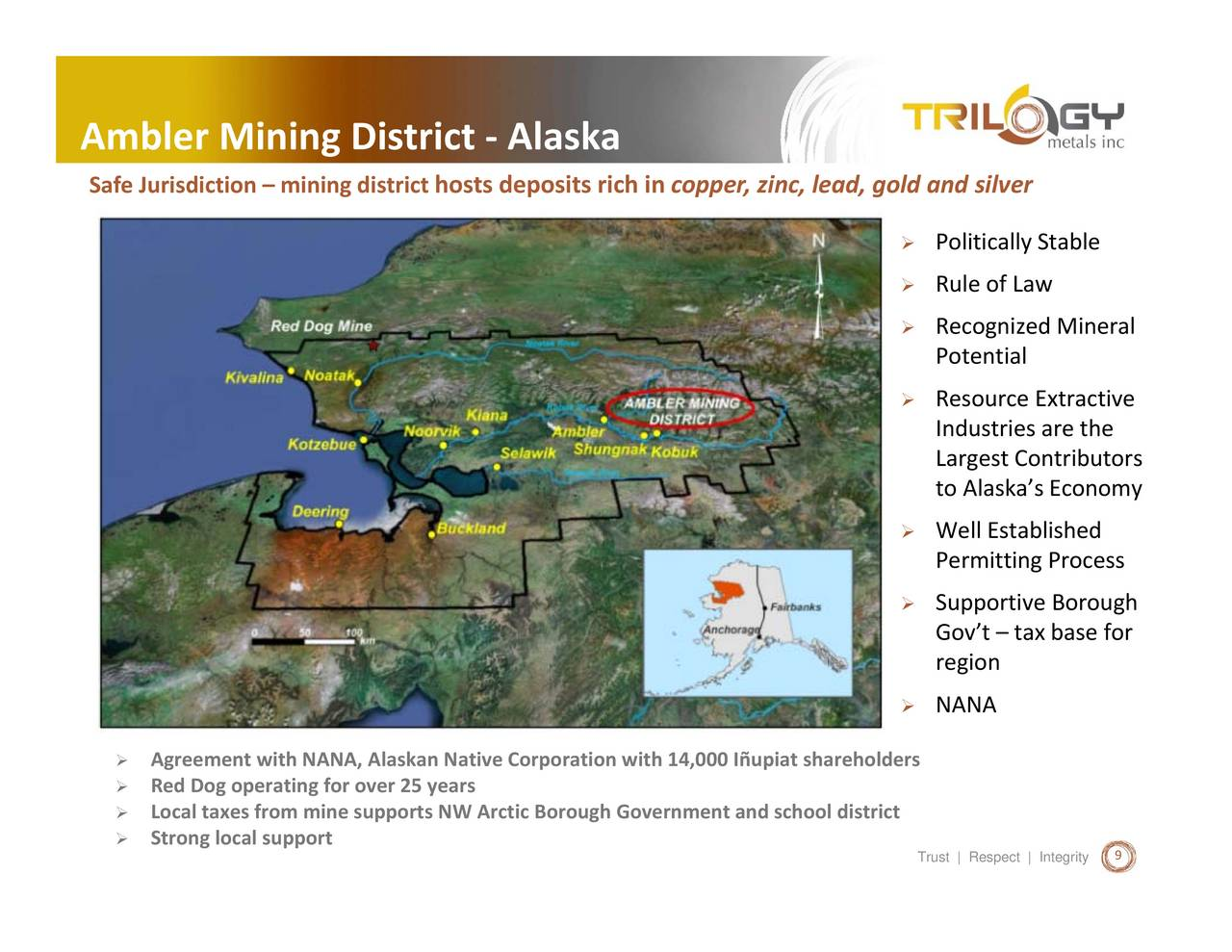Alaska northwest arctic county noatak - Trilogy Metals Tmq Presents At The 85th Annual Pdac Conference Trilogy Metals Inc Nysemkt Tmq Seeking Alpha