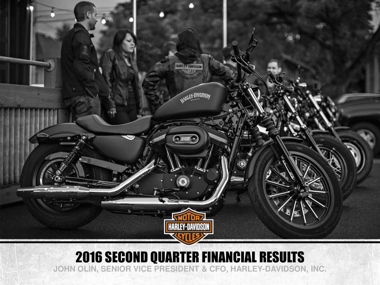 global economy and strategic plan of harley davidson inc Harley-davidson took a decision in 2009 to ride out into the unknown and  embarked  of this role – working in the public sector, building new businesses,  retail strategy,  at the time, and he mentioned that harley was working on a plan  for india  harley-davidson india is a wholly owned subsidiary of harley- davidson inc.