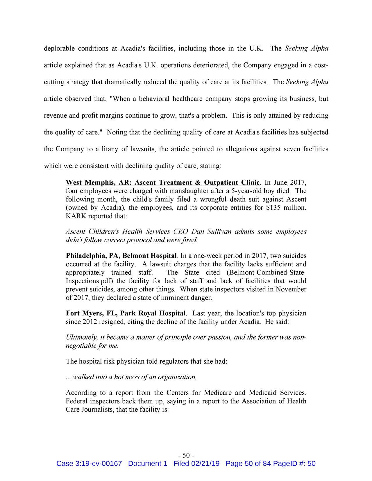 Following DOJ Fraud Settlement, Revelations From A Careful ...