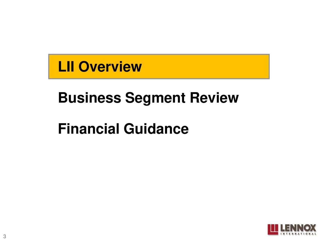 LII Overview