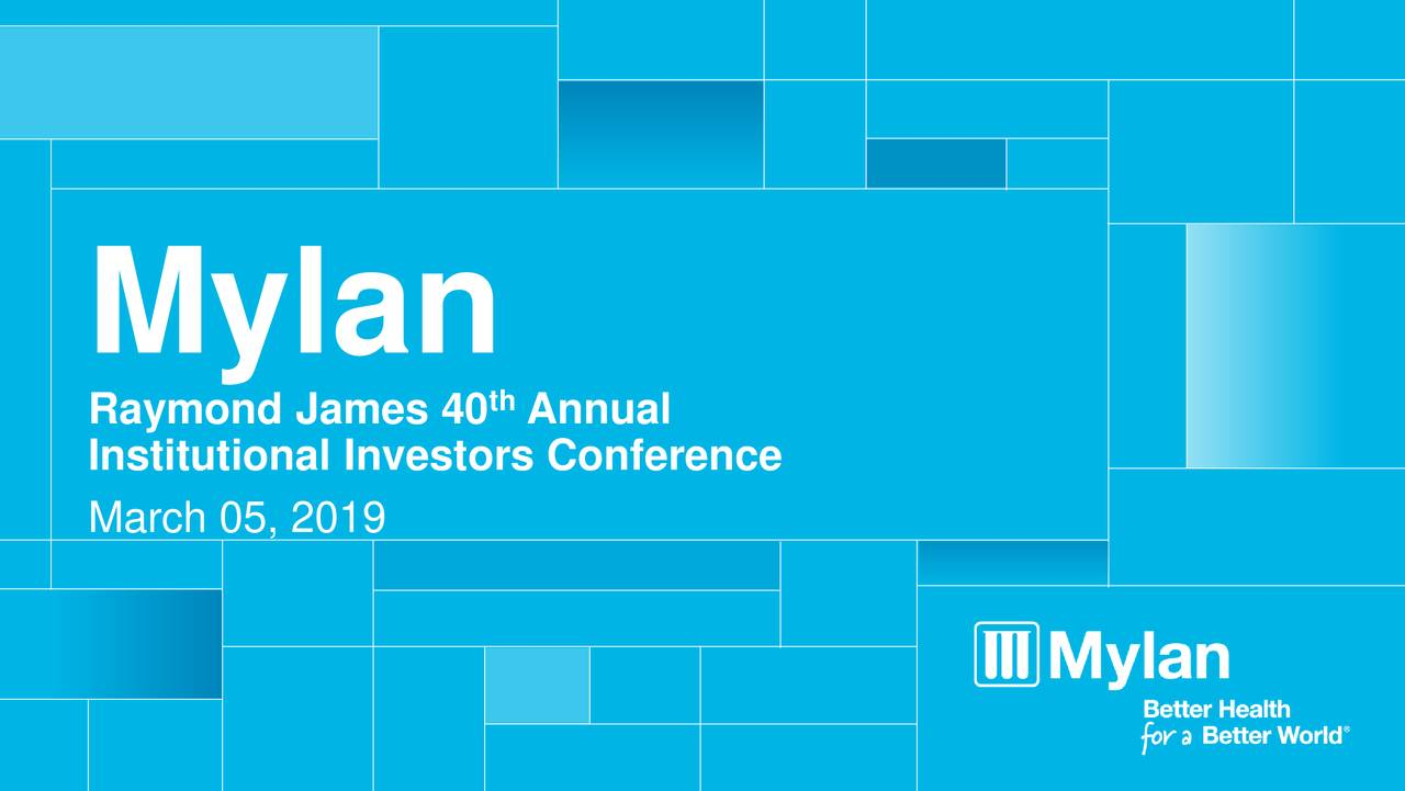 Raymond James 40 Annual Institutional Investors Conference March 05, 2019