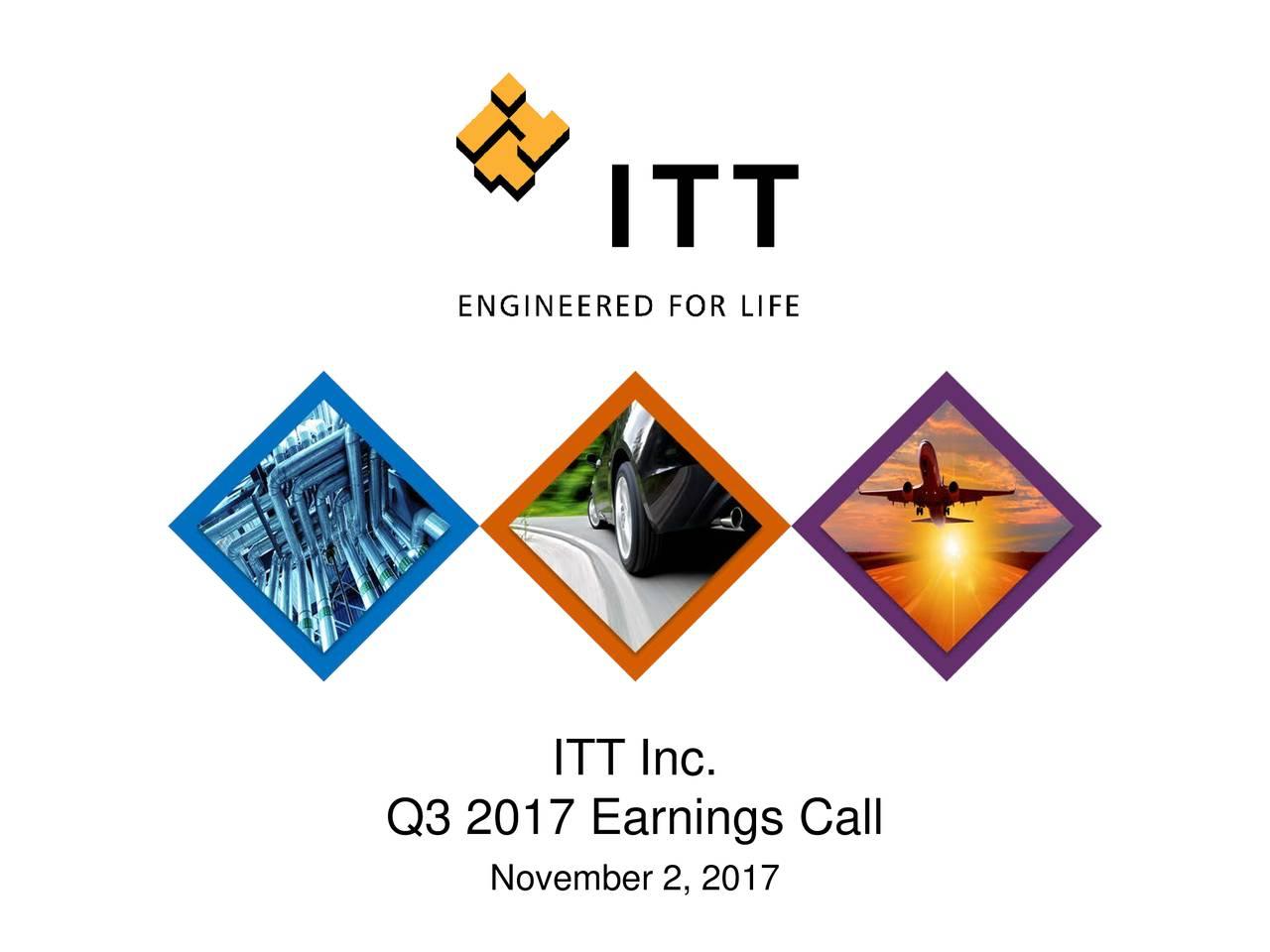 Q3 2017 Earnings Call November 2, 2017