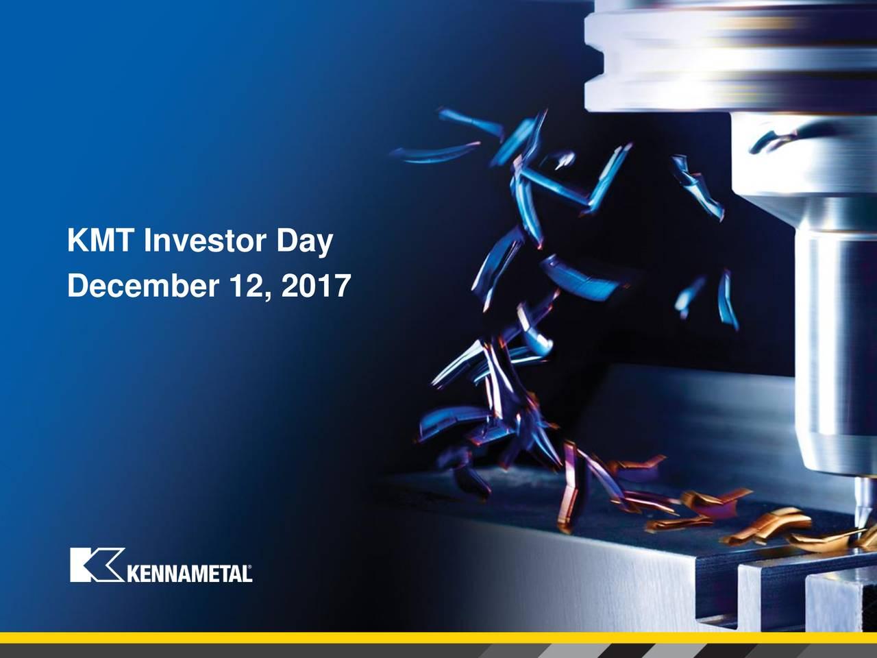 KMT Investor Day