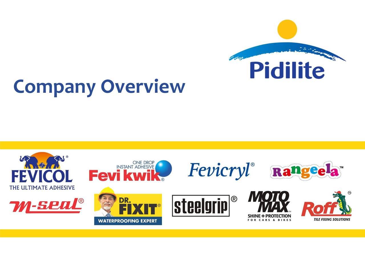 Pidilite Industries Ltd Adr 2018 Q3 Results Earnings Call Slides Otcmkts Pdlty Seeking Alpha