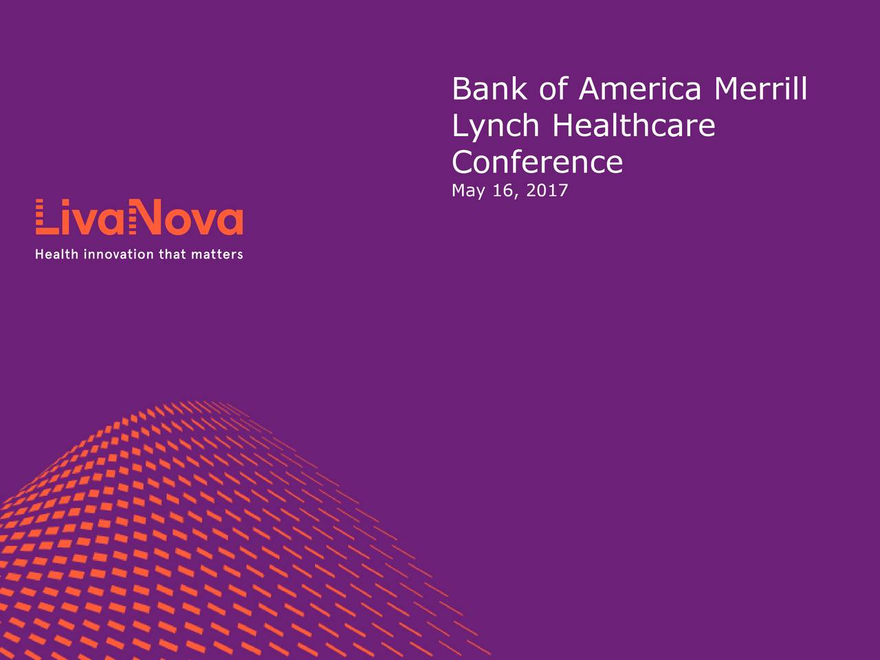 Lynch Healthcare May 16, 2017