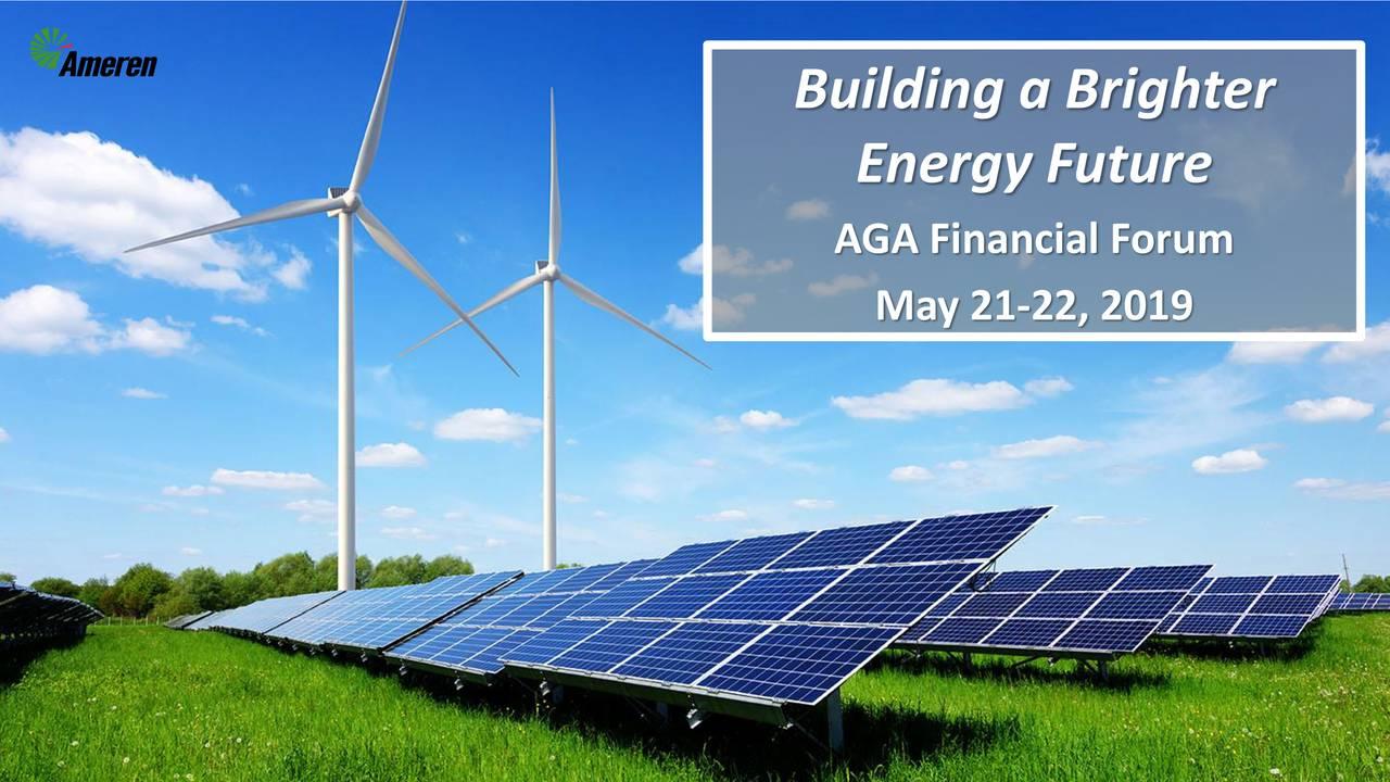 Ameren (AEE) Presents At 2019 AGA Financial Forum