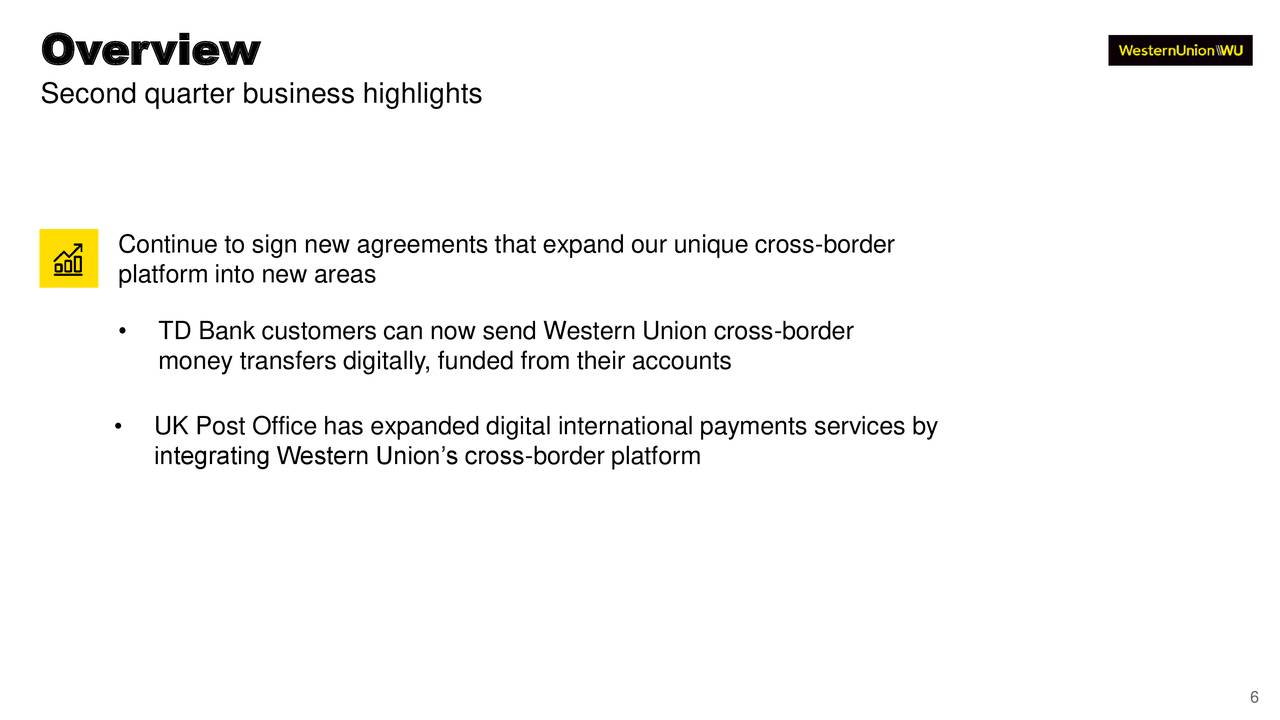 The Western Union Company 2019 Q2 - Results - Earnings Call