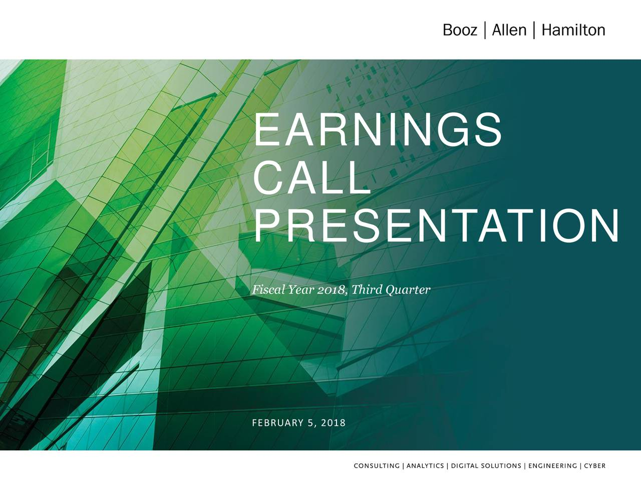 Earnings Call Slides