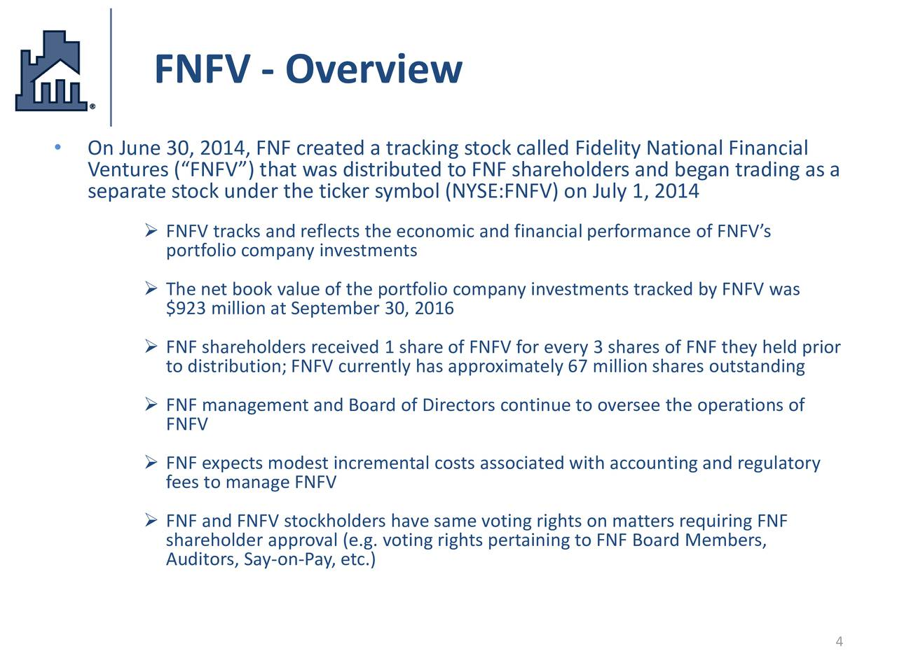 Fidelity National Financial Inc 2016 Q3 Results Earnings Call