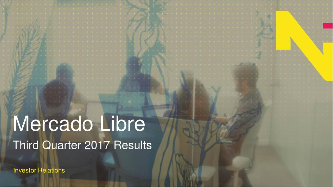 Third Quarter 2017 Results Investor Relations