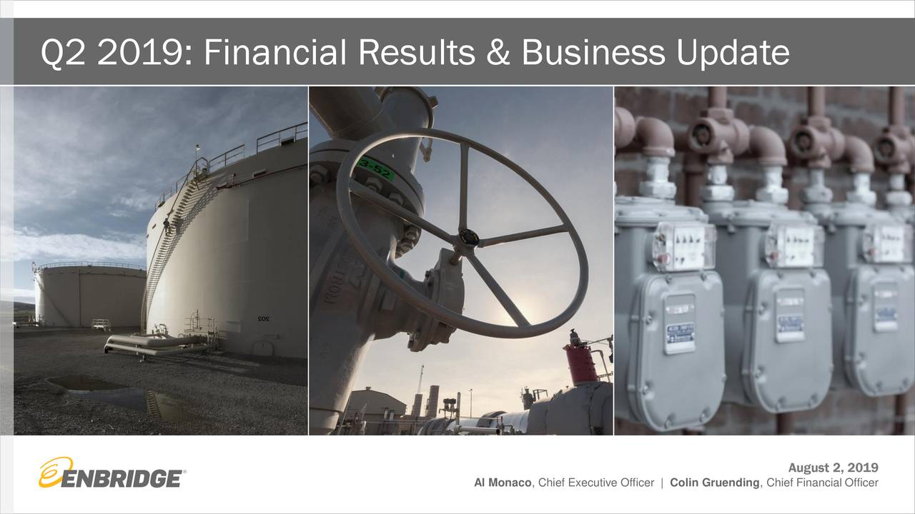 Enbridge Inc  2019 Q2 - Results - Earnings Call Slides