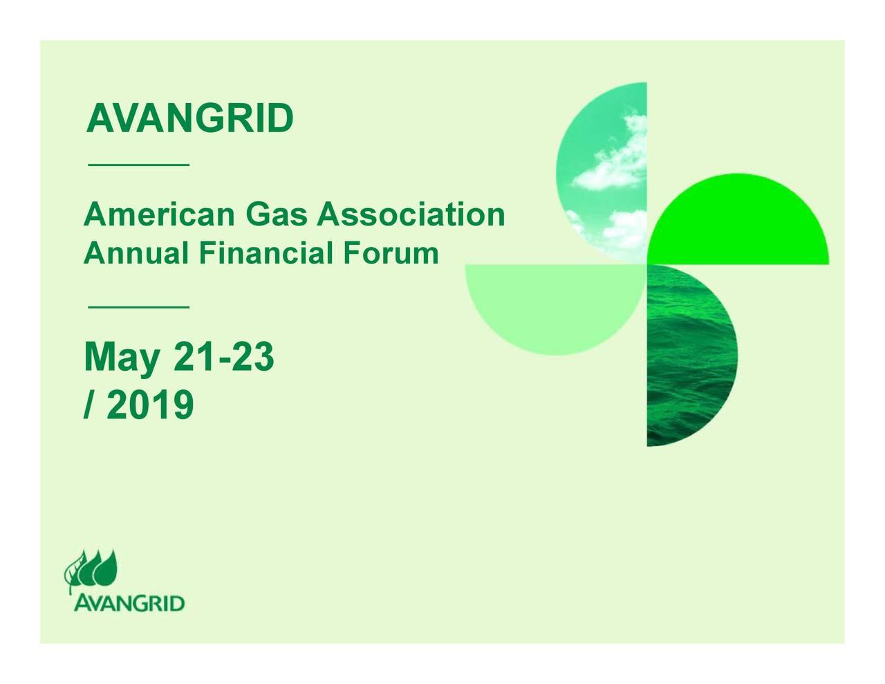 Avangrid (AGR) Presents At AGA Financial Forum 2019