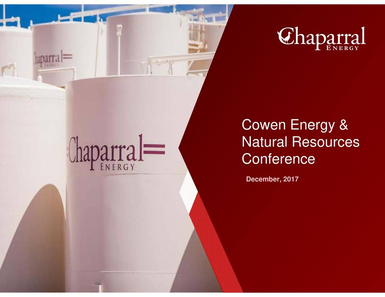 Chaparral Natural Resources Inc