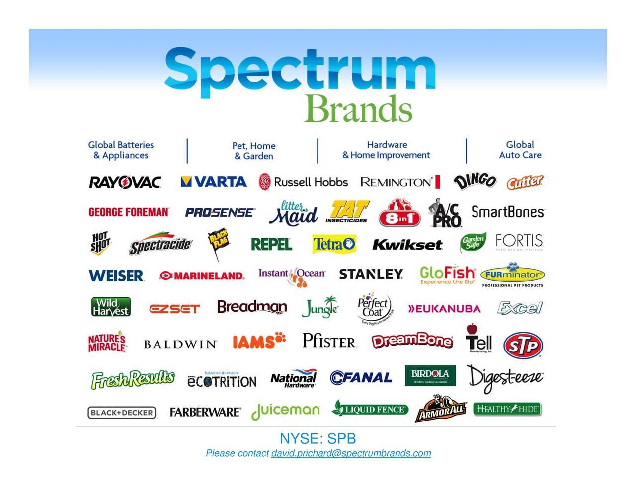 Spectrum Brands Pet Home Garden