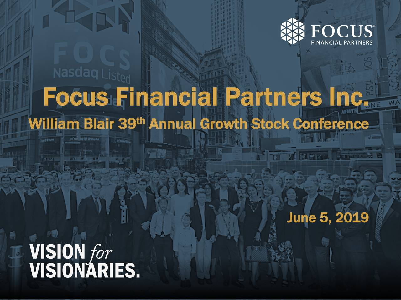 Focus Financial Partners (FOCS) Presents At William Blair Growth Stock Conference - Slideshow