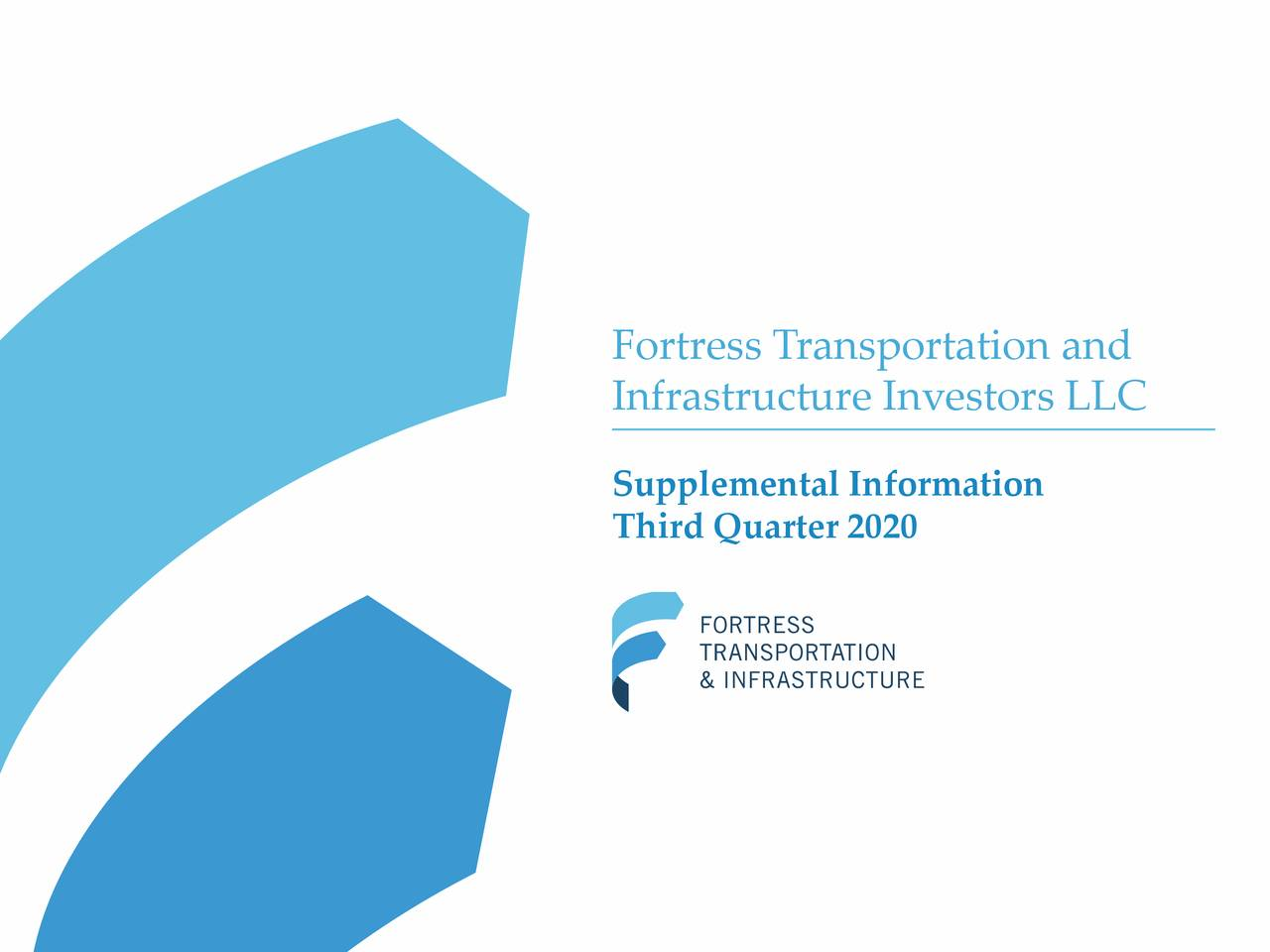Fortress Transportation and Infrastructure Investors LLC 2020 Q3 - Results - Earnings Call Presentation (NYSE:FTAI)