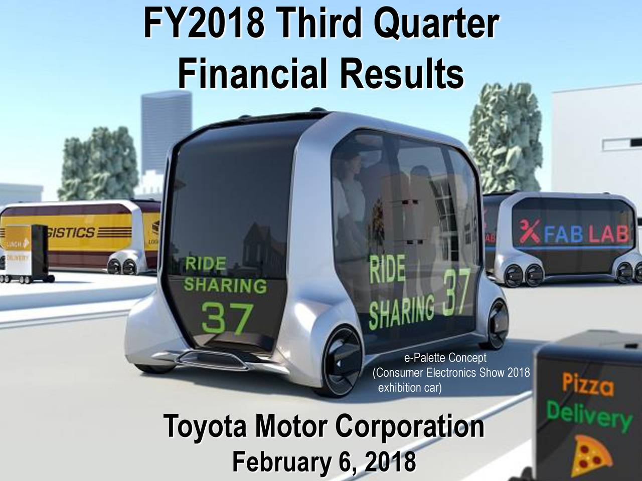 Toyota motor corporation 2017 q4 results earnings call for Toyota motor corporation address