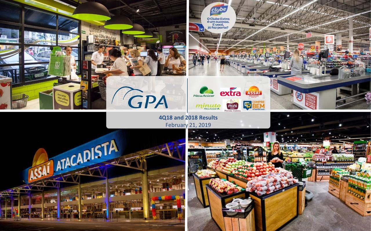 Companhia Brasileira de Distribuio 2018 Q4 - Results - Earnings Call Slides - Companhia Brasileira de Distribuição (NYSE:CBD)   Seeking Alpha