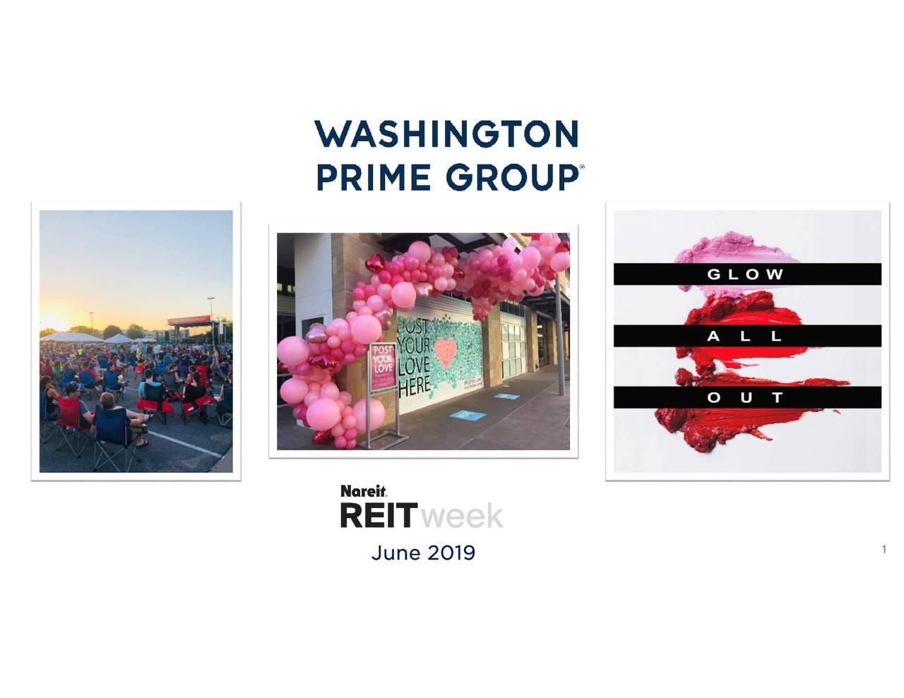 Washington Prime Group (WPG) Presents At NAREIT 2019 Investor Conference - Slideshow