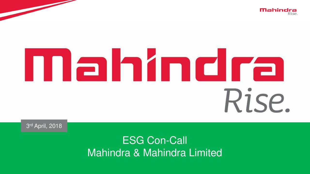 mahdy    mahindra  u0026 mahindra ltd