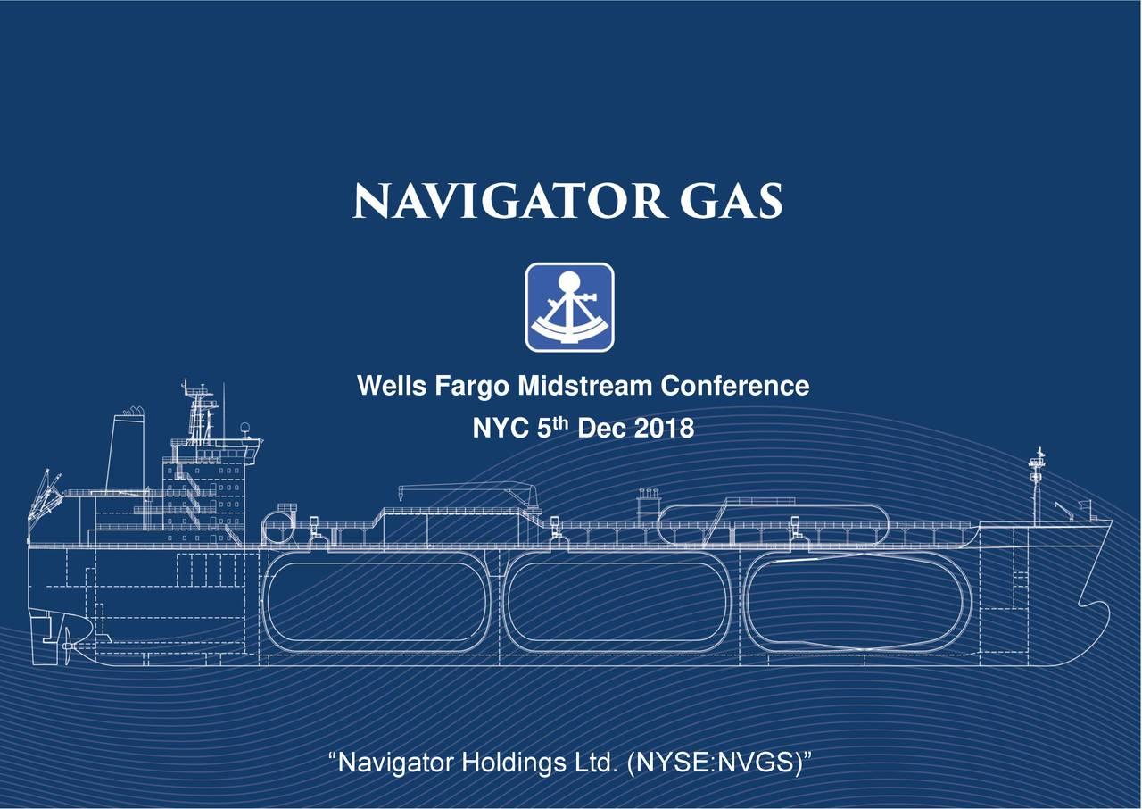 "NYC 5 Dec 2018 ""Navigator Holdings Ltd. (NYSE:NVGS)"""