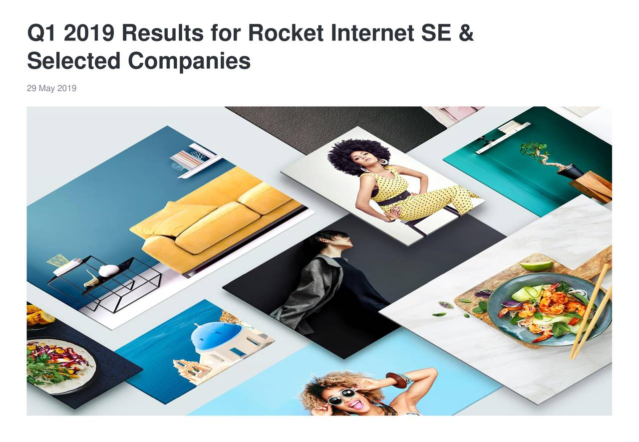 Rocket Internet SE 2019 Q1 - Results - Earnings Call Slides
