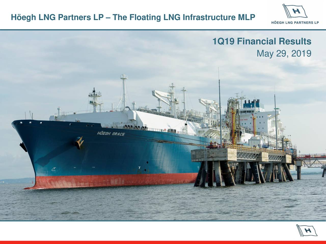 Höegh LNG Partners LP 2019 Q1 - Results - Earnings Call Slides