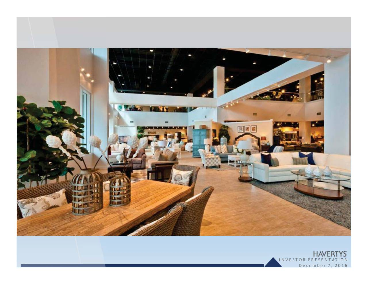 Haverty Furniture Companies (HVT) Presents At KeyBanc Capital Markets  Consumer Conference