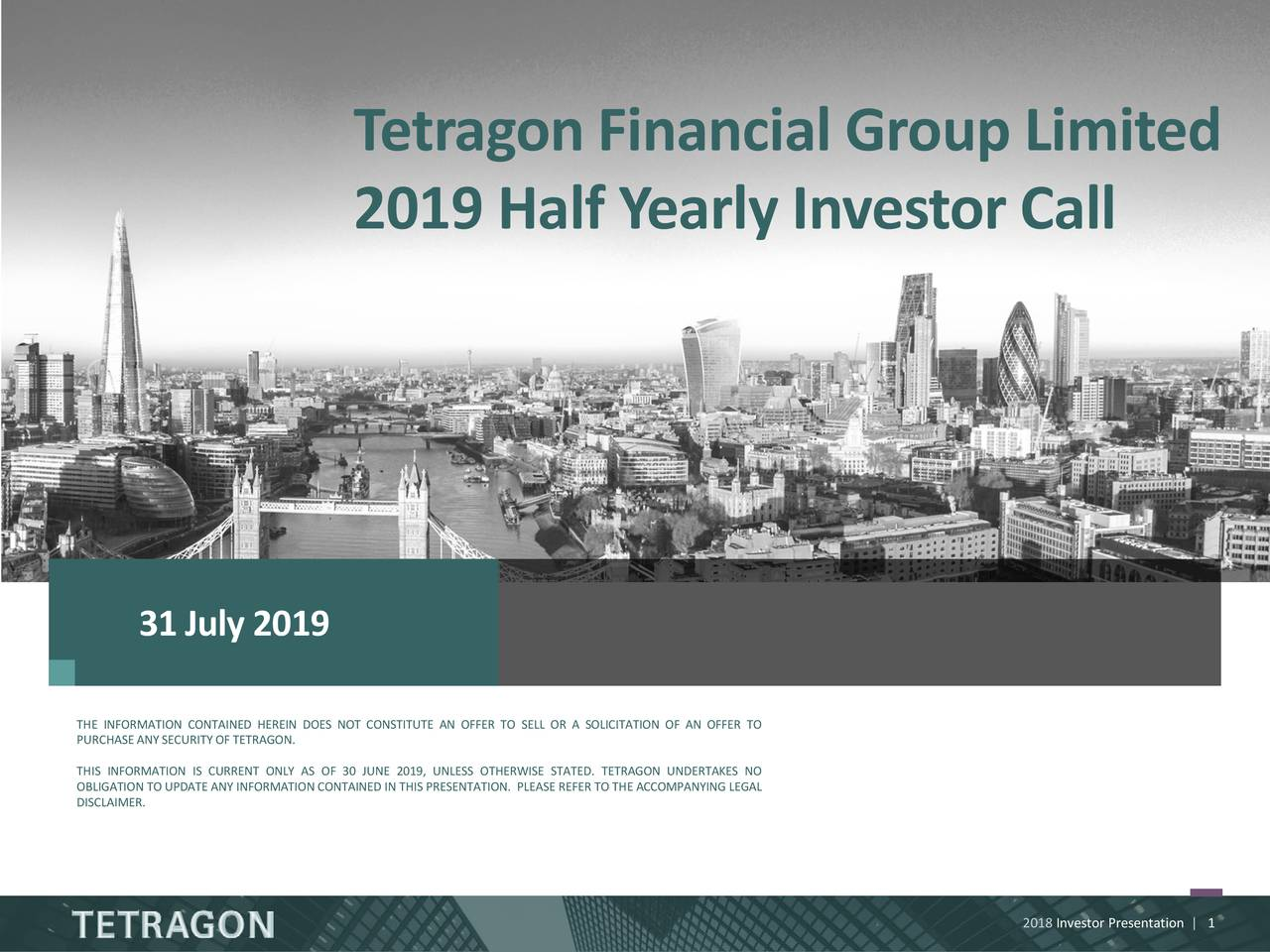 T etragon Financial Group Limited