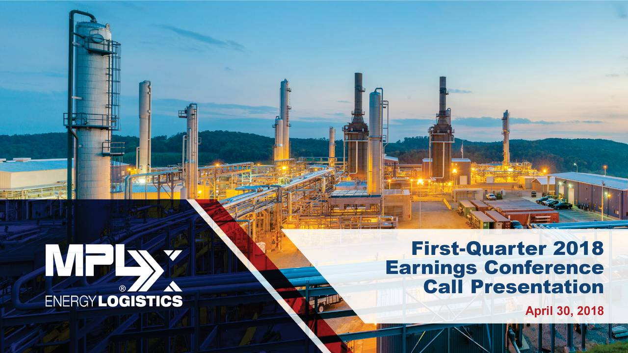 Earnings Conference Call Presentation April 30, 2018