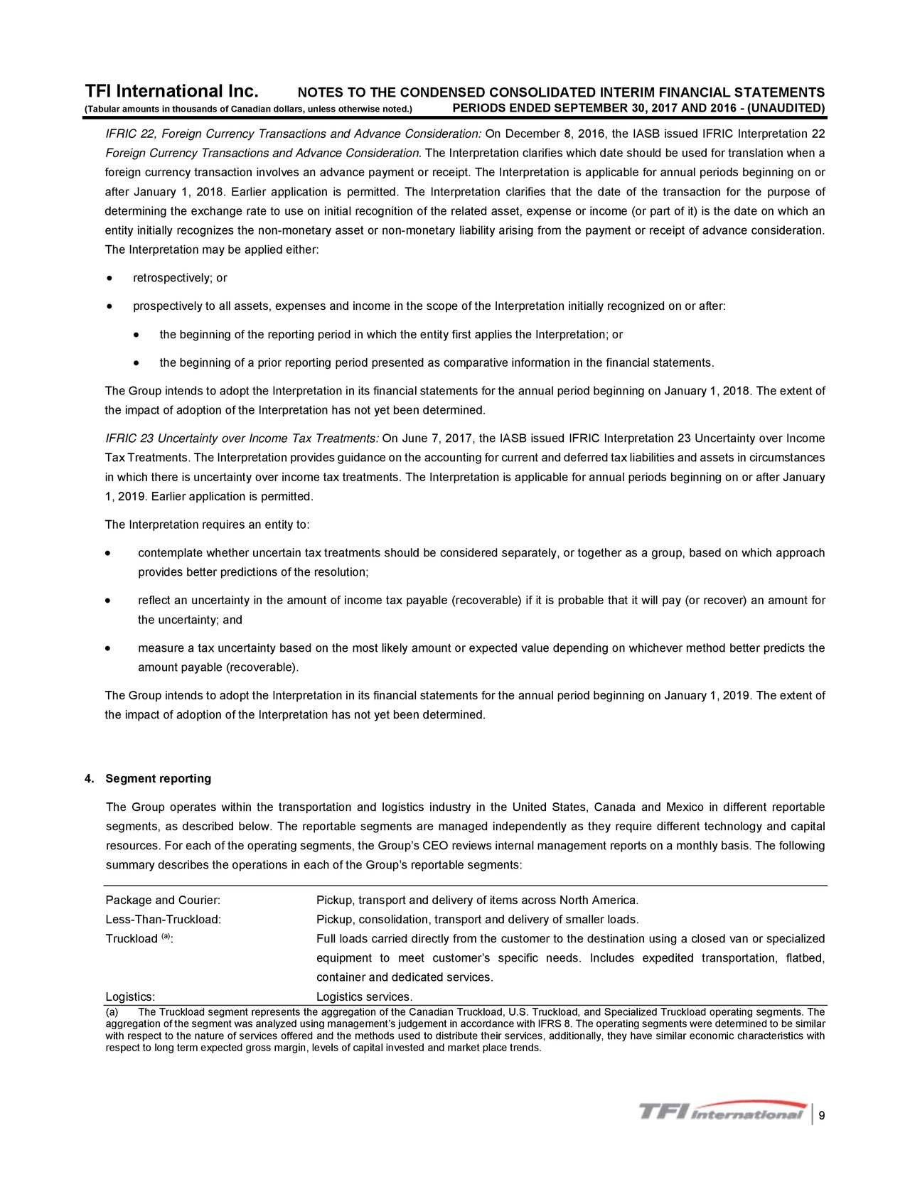ifrs share consolidation application guidance